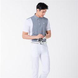 남자 스포츠웨어 시원한 여름 기능성 골프 반팔티셔츠