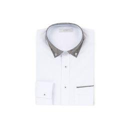 남자 포인트 체크카라 어버이날 데일리 선물 셔츠