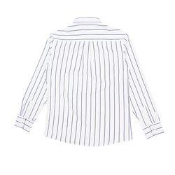남자 와이드카라 슬림 스트라이프 핏좋은 깔끔 셔츠