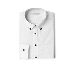 남자 셔츠 카라 포인트 데일리 파티룩 회사원 셔츠