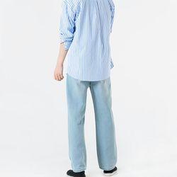 남자 데일리 스판 와이드 통넓은 넉넉한 모델핏 청바