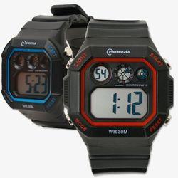 컬러 클래식 멀티 학생 전자 손목시계 방수손목시계