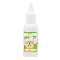국산 강아지 귀세정제 예삐 퓨어케어 귀세정제 110ml