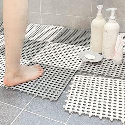 욕실 화장실 미끄럼 방지 조립식 매트 바닥 발판 20개