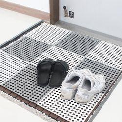욕실 화장실 미끄럼 방지 조립식 매트 바닥 발판 10개