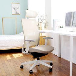 와이즈 그로잉틸트 성장기 학생용 책상의자-헤드레스트형
