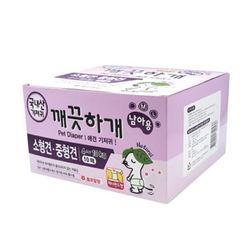 국산 강아지 기저귀 깨끗하개 남아용 M-L 10매 애견기저귀
