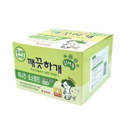국산 강아지 기저귀 깨끗하개 남아용 S-M 10매 애견기저귀