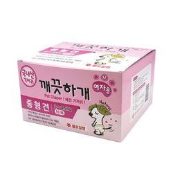 국산 강아지 기저귀 깨끗하개 여아용 M 10매 애견기저귀