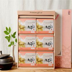 일품쌀 수제 복이 현미 누룽지 선물세트 120gx6개