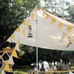 캠핑 가렌드 16면 감성캠핑 텐트장식 감성캠핑