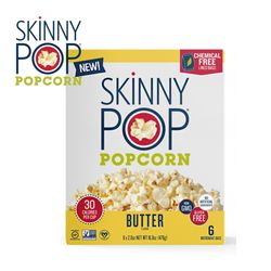 SkinnyPop 스키니팝 전자레인지용 팝콘 저칼로리 버터맛
