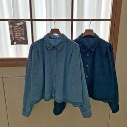 [무료배송] Mason Denim Crop Shirts
