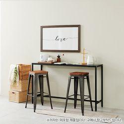 N160 강화유리 홈바테이블 1500 1color