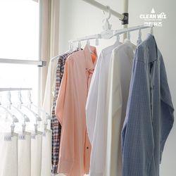 공간절약 접이식 옷걸이 싹다걸어 옷걸이형 빨래건조대