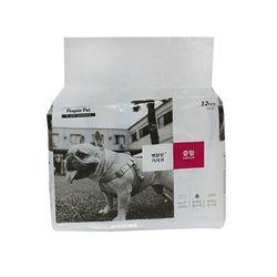 펫블랑 여아용 기저귀 (12매)-M