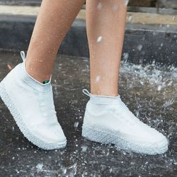 L (남성추천)슈즈웨어 빗물 방지 신발 커버 장화