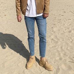 국산 남성 발목 포인트 키높이 운동화 워커 6cm
