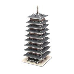 모또 3D퍼즐 황룡사구층목탑 집콕놀이 입체퍼즐 만들기