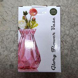 글로리 화병 소 핑크 장식소품 인테리어용품 꽃병