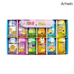 1000 치즈 캔 과자 주스 슬라임 BOX(12개입)