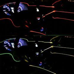 오토크루 차량용 면발광 줄 LED 스트립 바 12V 1M