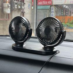 360도 트윈스 차량용 선풍기