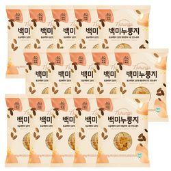 미식백과 구수한 건강 백미 누룽지 60g x 15개