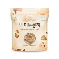 미식백과 구수한 건강 백미 누룽지 1kg