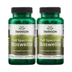 Swanson Boswellia 스완슨 보스웰리아 800mg 60정 2개