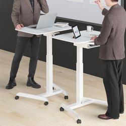 사이드 테이블 001 침대테이블 높이조절 테이블 수납형