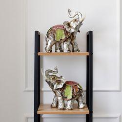 코끼리 마블장식 2종세트 (W29014AB-2)