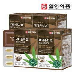 일양약품 대마종자유 햄프씨드 오일 4박스 (120캡슐)