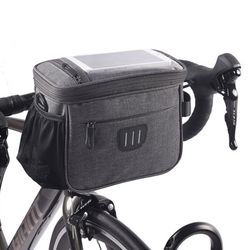 핸들바 가방 ZZ-03 자전거 스마트폰 터치 핸들가방