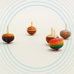 NEMO 아트드림 원목 도토리 팽이 (5개) 전통만들기