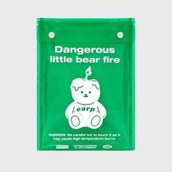 LITTLE FIRE COVY-GREEN(PVC 스퀘어파우치)