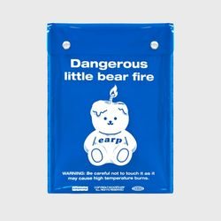 LITTLE FIRE COVY-BLUE(PVC 스퀘어파우치)