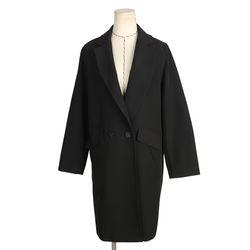 [네오쿠비카]빅사이즈 버튼 포켓 코트 BRS656