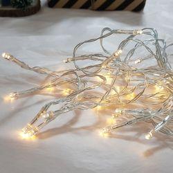 인테리어 조명 LED 전구 50구 건전지형