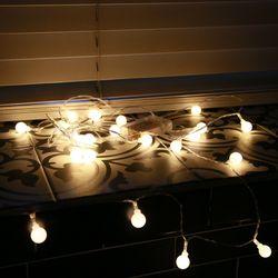 인테리어 조명 LED 앵두전구 20구 건전지형