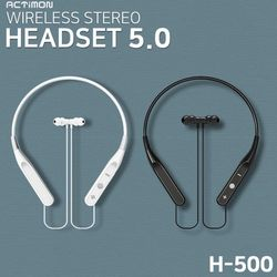 WIRELESS STEREO 블루투스 헤드셋 5.0 (ACTIMON-H500)