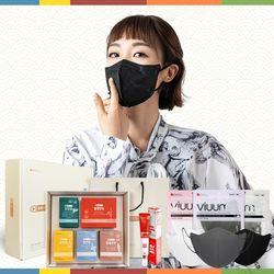 [알뜰선물세트] 튼튼프로젝트 + KF94마스크 50매 + 손소독제