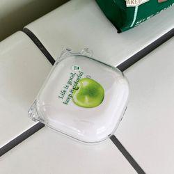 fresh juice 디자인 [clear 버즈라이브 프로 케이스]