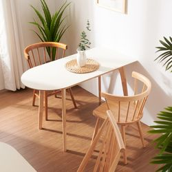 보노 1200A HPM 반타원 원목 식탁 테이블 CNM100
