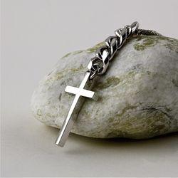 SVN-#146 십자가 체인 목걸이(ITEMLAQKZ3P)
