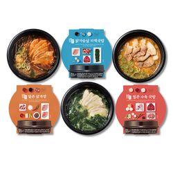 밀스원 닭가슴살 미역 국밥 도시락 (281gx4팩)