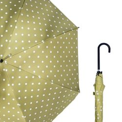 UV차단 심플 도트 장우산 자외선차단 자동우산