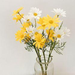데이지 조화 홈가드닝 봄 꽃꽃이 장식 2color