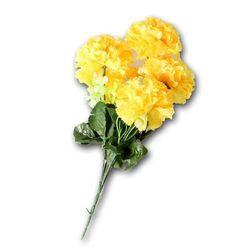 태극 5송이 카네이션조화 소 인조꽃 인테리어꽃 장식