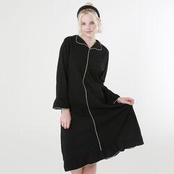 힐링잠옷 모던 플레어 원피스 홈웨어2color